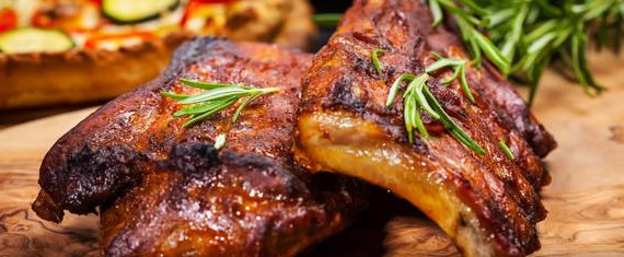 tender pork spare ribs for meat catering concord