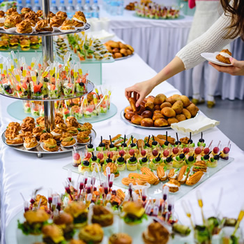 Tea party finger foods for catering companies in benicia ca